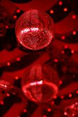 red shining mirror/discoballs poster