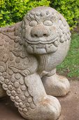 picture of chinese unicorn  - Chinese Stone Chimera Known as a Qilin