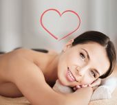 stock photo of stone-therapy  - health and beauty - JPG