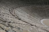 stock photo of epidavros  - ancient ruins of epidaurus theater peloponnese greece - JPG