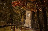 image of cemetery  - Gravesite of Daniel and Rebecca Boone at Frankfort Cemetery in Frankfort - JPG