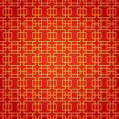 stock photo of prosperity sign  - National chinese seamless pattern - JPG