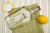 picture of baking soda  - Lemons Baking Soda and Vinegar are all Natural Environmentally Friendly Ways to Clean Your Home - JPG
