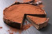 image of tarts  - chocolate tarte - JPG