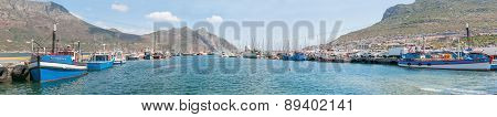 Panorama Of Hout Bay Harbor