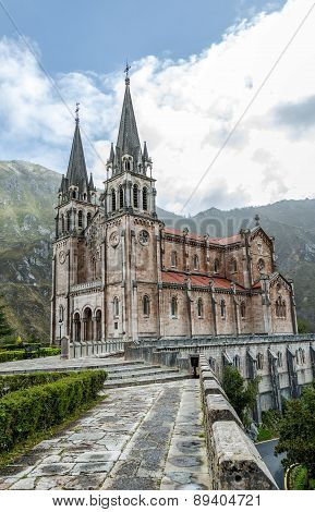 Covadonga Sanctuary, Asturias, Spain