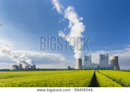 Power Stations And Rye Field