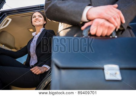Businesspeople At A Meeting