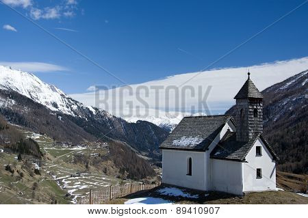 Chapel At The Alp Islitzer, East Tyrol, Austria