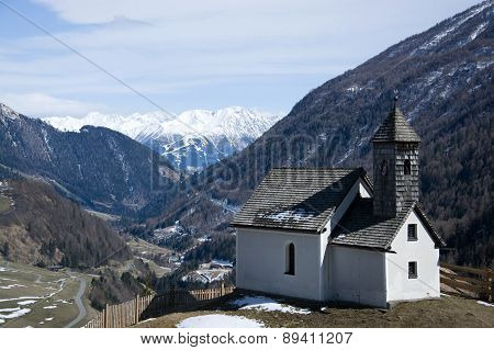 Chapel At The Alp Islitzer, East Tyrol, Austria