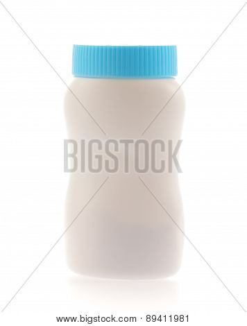 Baby Powder Isolated On White Background