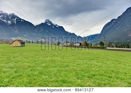 Cabin In The Austrian Countryside