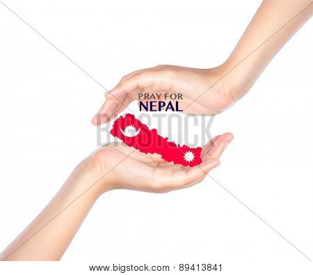 Pray for Nepal. Earthquake Crisis