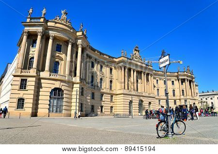 Humboldt University in Berlin, Germany.