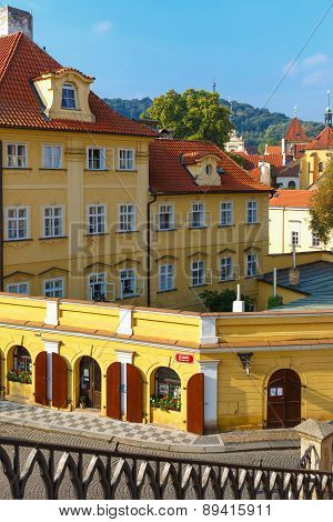 Kampa Island in Little Quarter, Prague, Czechia