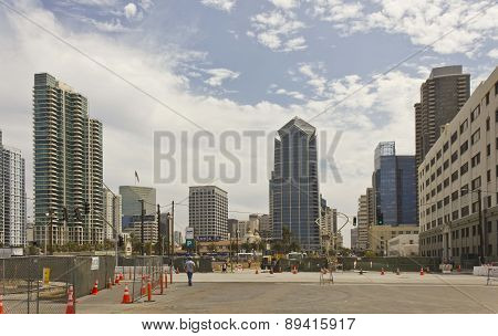 San Diego Downtown Skyscrapers