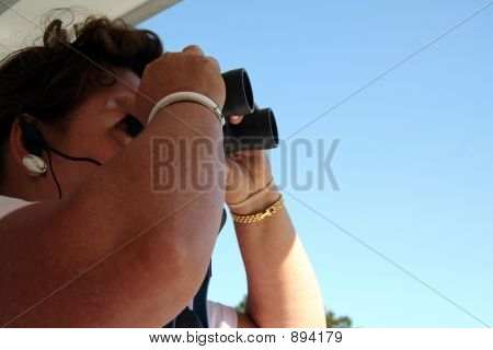 Woman Bird Watcher