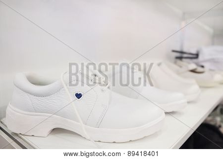 White women's shoes