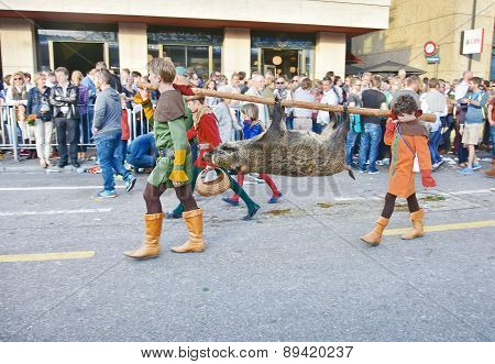 The Zurich Spring Holiday Parade