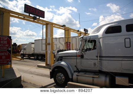 Truck Border Crossing