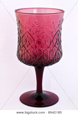 Antique Wine Glass