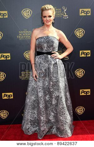 BURBANK - APR 26: Martha Madison at the 42nd Daytime Emmy Awards Gala at Warner Bros. Studio on April 26, 2015 in Burbank, California