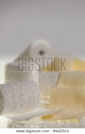 Gypsum in a roll