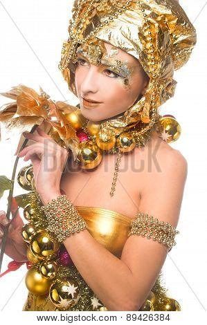 Golden girl.