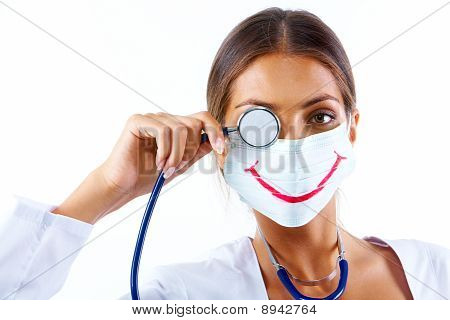 Nurse With Big Smile