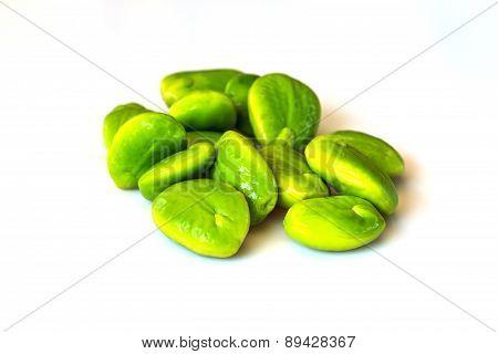 Green bitter beans