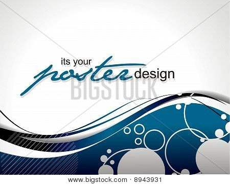 Abstract background with colorful design for text project used, vector illustration