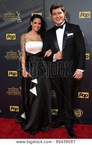 BURBANK - APR 26: Christopher Sean at the 42nd Daytime Emmy Awards Gala at Warner Bros. Studio on April 26, 2015 in Burbank, California