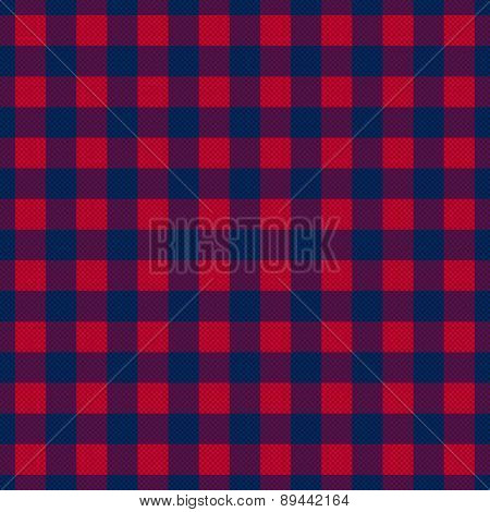Tartan Seamless Contrast Square Texture