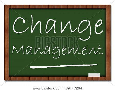 Change Management Classroom Board