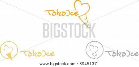 Toko Ice - Logo template