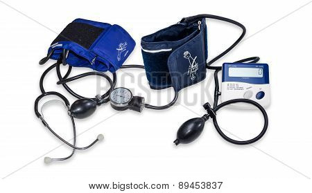 Electronic And Mechanical Sphygmomanometers