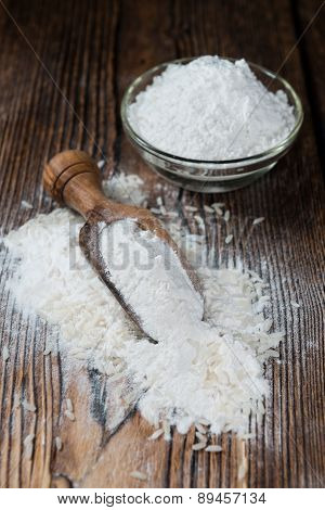 Portion Of Rice Flour
