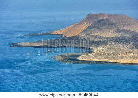 South Part Of Graciosa Island, Canary Islands, Spain