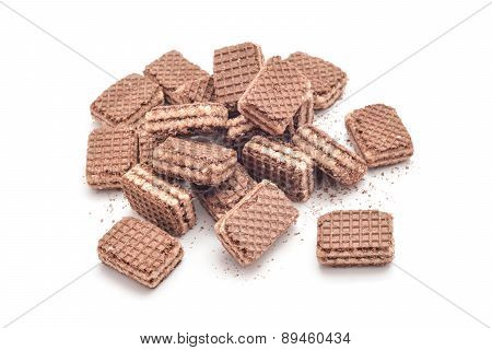 Cocoa Wafer Dessert