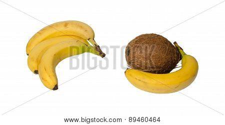 Bananas And Coconut