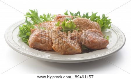 Roasted Turkey With Fresh Lettuce