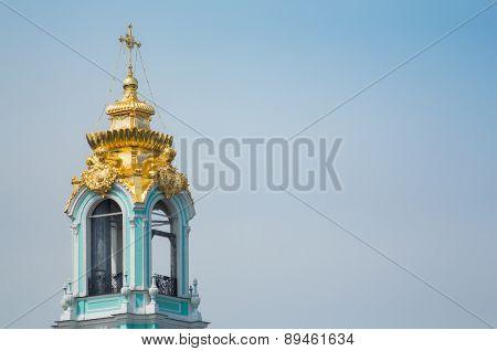 Belfry Of The Trinity Lavra Of St. Sergius