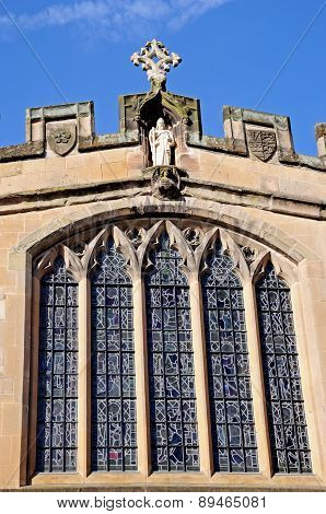 St James chapel window, Warwick.