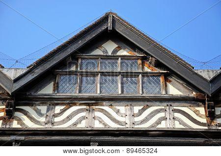 Elizabethan architecture detail, Stafford.