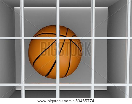 Basketball In Prison - Sports Crime