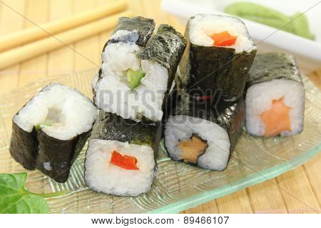 Sushi With Wasabi