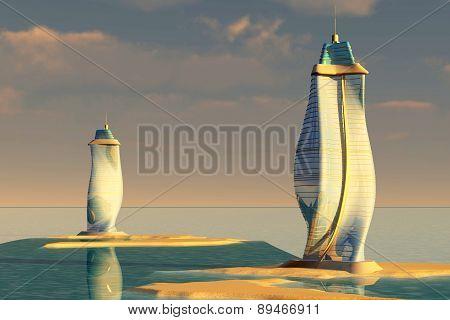 Ocean Architecture.