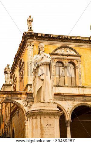 Ancient Statue In Verona
