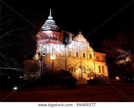Villa Reinchold Richter in Lodz.
