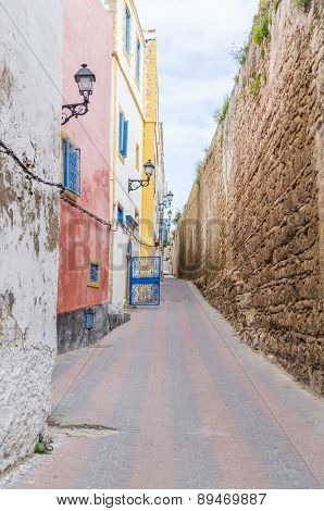 Old alley in Safi, Morocco
